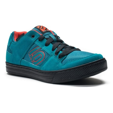 FIVE TEN FREERIDER ALL-MOUNTAIN FLAT SHOE [TEAL/GRENADINE]