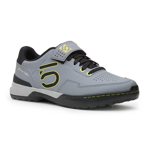 FIVE TEN KESTREL LACE CLIPLESS MOUNTAIN BIKE SHOE [ONIX/YELLOW]