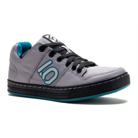 FIVE TEN FREERIDER CANVAS WOMEN'S ALL-MOUNTAIN SHOE [GREY/TEAL]