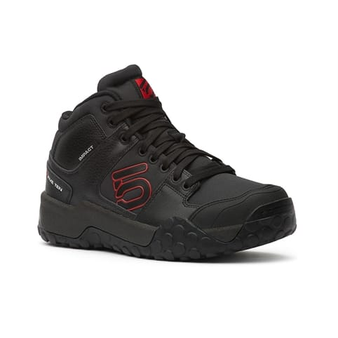 FIVE TEN IMPACT HIGH MOUNTAIN BIKE SHOE [BLACK/RED]