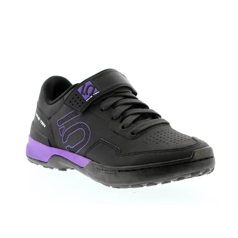 FIVE TEN KESTREL LACE CLIPLESS WOMEN'S MOUNTAIN BIKE SHOE [BLACK/PURPLE]