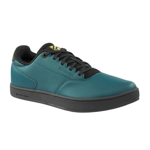 FIVE TEN DISTRICT CLIPLESS URBAN BIKE SHOE [UTILITY GREEN]