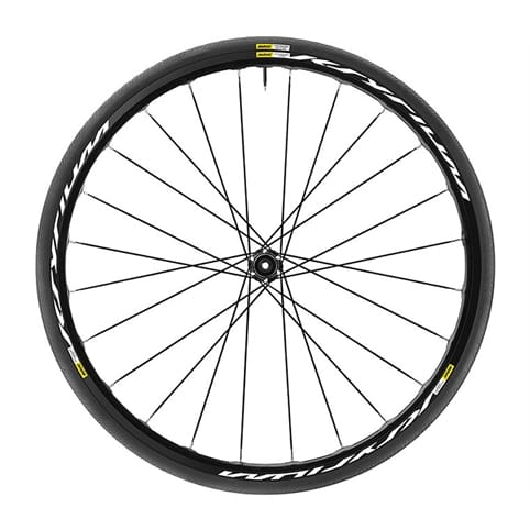 MAVIC KSYRIUM DISC CENTRE LOCK CLINCHER FRONT WHEEL