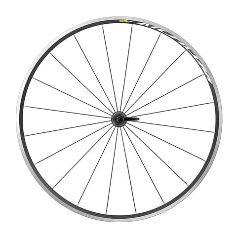 MAVIC AKSIUM CLINCHER FRONT WHEEL