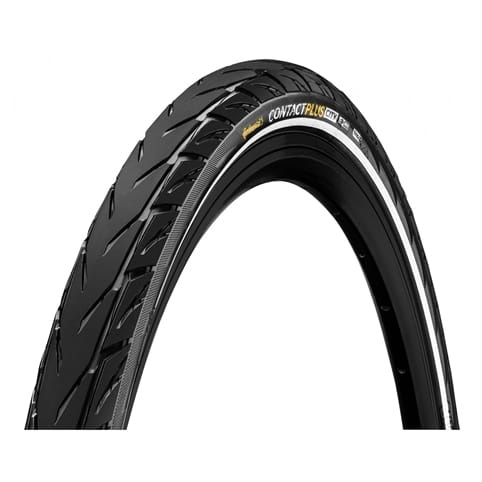 CONTINENTAL CONTACT PLUS CITY REFLEX WIRE eBIKE WIRED TYRE *