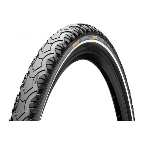 CONTINENTAL CONTACT PLUS TRAVEL REFLEX WIRE TYRE *
