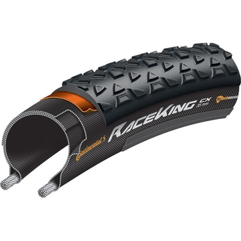 CONTINENTAL RACE KING CX PUREGRIP FOLDING TYRE