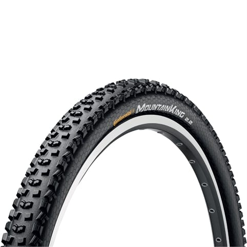 CONTINENTAL MOUNTAIN KING II PUREGRIP 26 RIGID TYRE