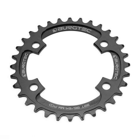 BURGTEC PCD THICK THIN CHAINRING FOR SHIMANO XT AND XTR