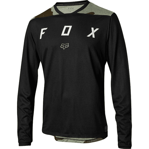 FOX INDICATOR LONG SLEEVE MASH CAMO JERSEY