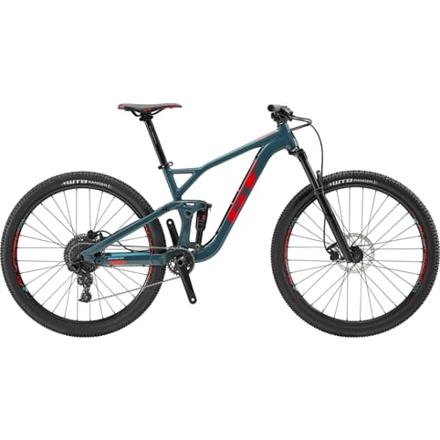 GT SENSOR AL SPORT FS MOUNTAIN BIKE 2019
