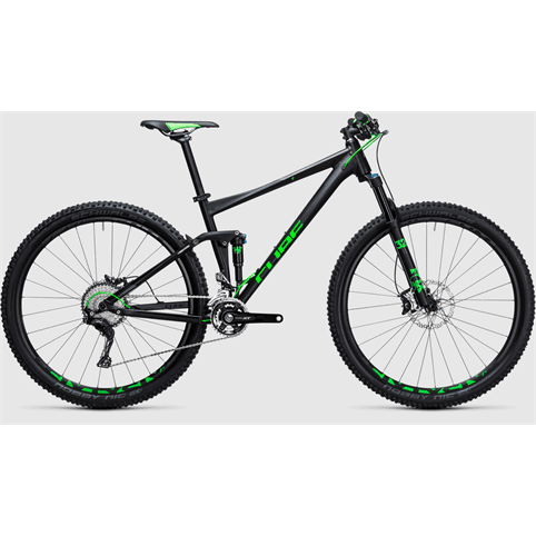 CUBE STEREO 120 HPA SL 650b FULL SUSPENSION MTB BIKE 2017 **EX DEMO**