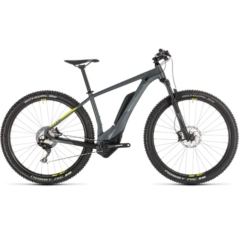 CUBE REACTION HYBRID RACE 500 650b HARDTAIL E-MTB BIKE 2019
