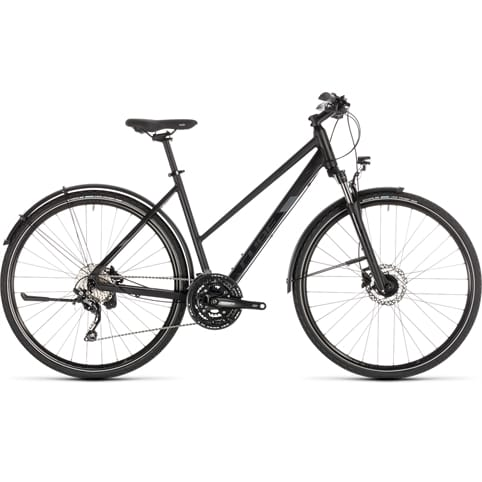 CUBE NATURE EXC ALLROAD TRAPEZE HYBRID BIKE 2019