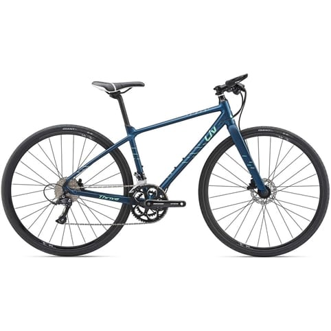 GIANT LIV THRIVE 2 DISC FLAT BAR ROAD BIKE 2019