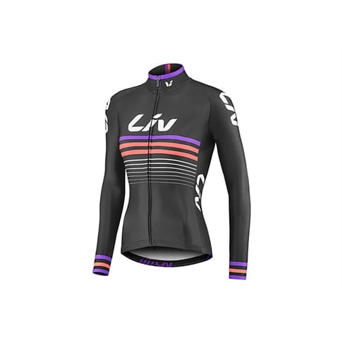 GIANT LIV RACE DAY THERMAL LONG SLEEVE JERSEY **