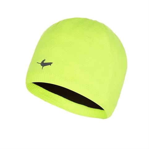 SEALSKINZ WATERPROOF BEANIE (HI VIZ YELLOW)