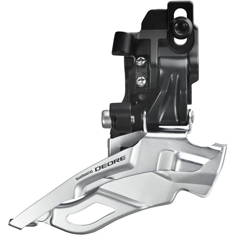 SHIMANO FD-M611 DEORE 10-SPEED TRIPLE FRONT DERAILLEUR