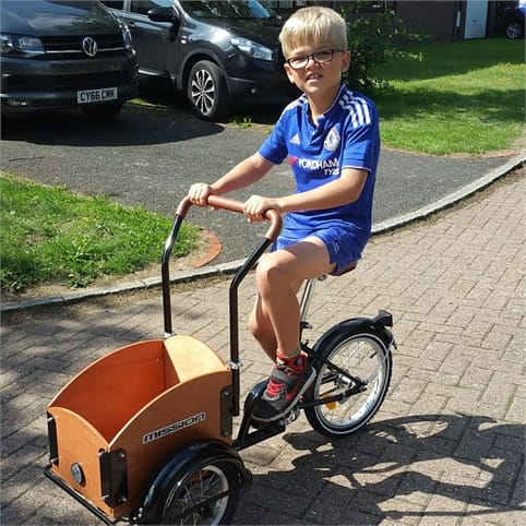 MISSION TREECOOL KID'S CARGO TRIKE