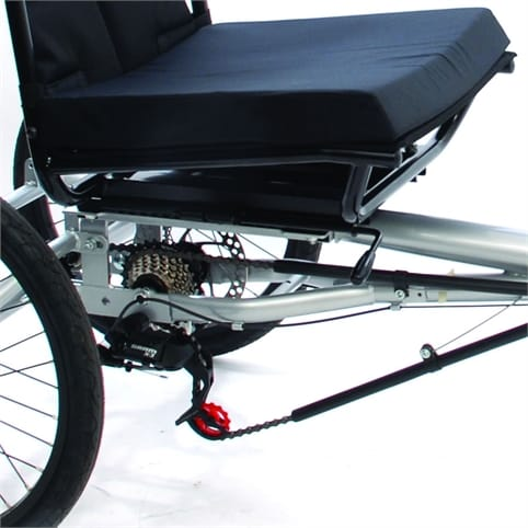 MISSION SEMI-RECUMBENT HAND CYCLE