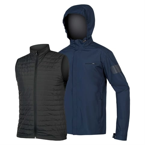 ENDURA URBAN 3 IN 1 WATERPROOF JACKET **
