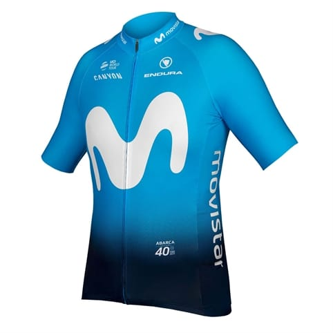 ENDURA MOVISTAR TEAM S/S JERSEY 2019