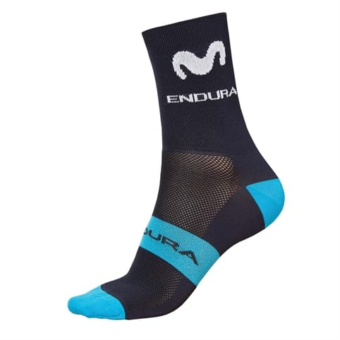 ENDURA MOVISTAR TEAM RACE SOCK 2019