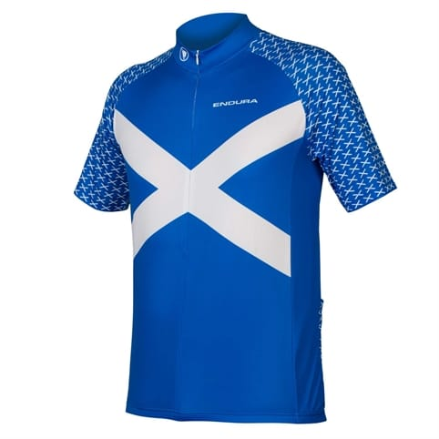 ENDURA SCOTLAND S/S FLAG JERSEY