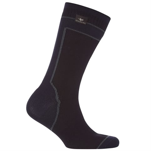 SEALSKINZ HYDROSTOP MIDWEIGHT MID-LENGTH WATERPROOF SOCK