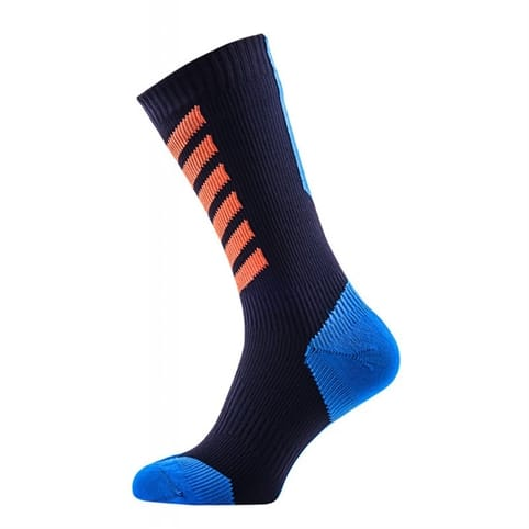 SEALSKINZ MTB MID MID SOCK WITH HYDROSTOP