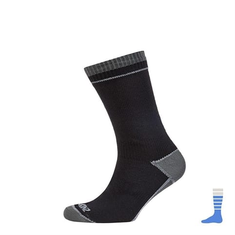 SEALSKINZ THIN MID LENGTH ALBATROSS SOCK