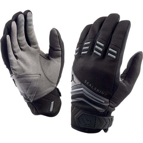 SEALSKINZ DRAGON EYE MTB GLOVE [BLACK/GREY]