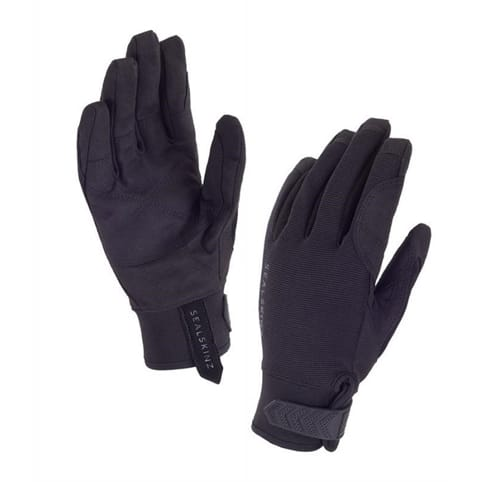 SEALSKINZ DRAGON EYE ROAD GLOVE [BLACK]