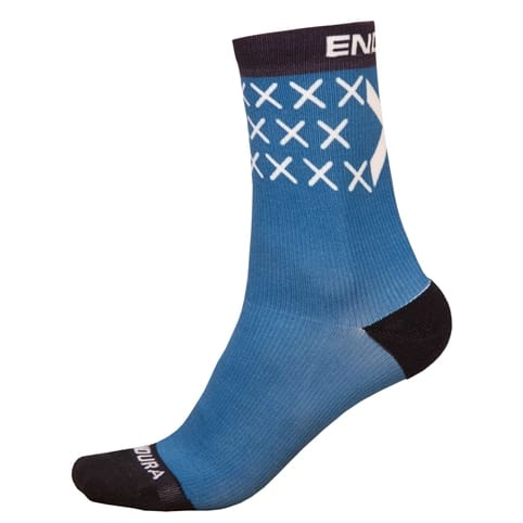ENDURA SCOTLAND FLAG SOCK (SINGLE)