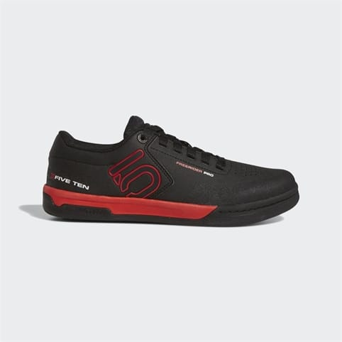 FIVE TEN FREERIDER PRO MENS MOUNTAIN BIKE SHOE [BLACK/RED/WHITE]