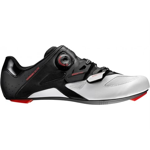 MAVIC COSMIC ELITE ROAD SHOE [BLACK/WHITE/FIERY RED]