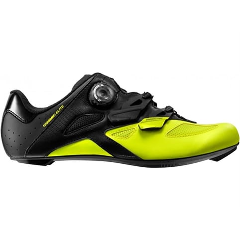 MAVIC COSMIC ELITE ROAD SHOE [BLACK/SAFETY YELLOW]