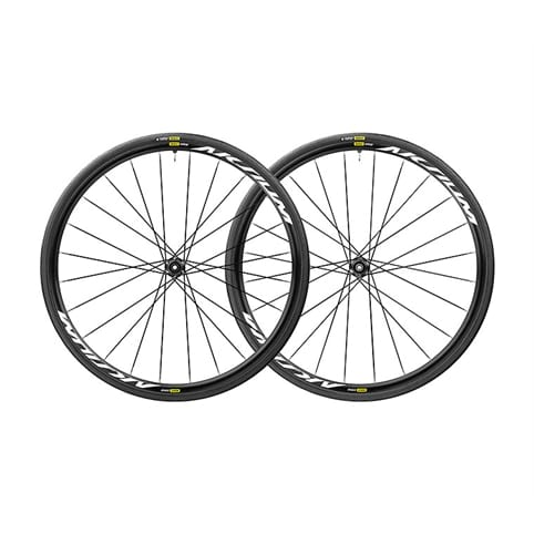 MAVIC AKSIUM ELITE UST DISC 6 BOLT WHEELSET 2019