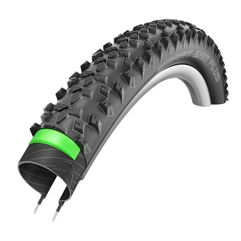 SCHWALBE SMART SAM PLUS 26 GREENGUARD WIRED eMTB TYRE