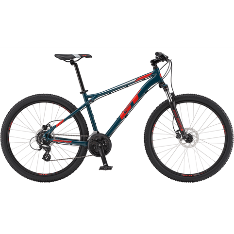 GT AGGRESSOR EXPERT HARDTAIL MOUNTAIN BIKE 2019 [MEDIUM/SLATE]