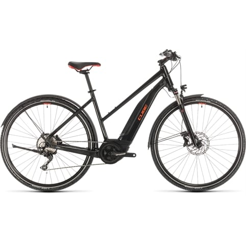 CUBE NATURE HYBRID EXC 500 ALLROAD ELECTRIC BIKE 2020 [TRAPEZE]