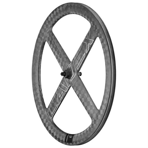 CADEX 4-SPOKE AERO TUBULAR FRONT WHEEL