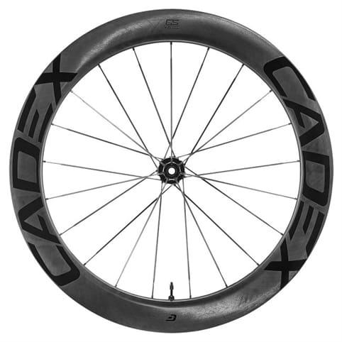 CADEX 65 TUBELESS DISC FRONT WHEEL