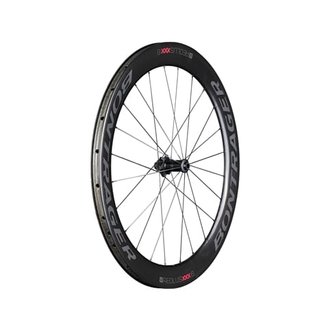 BONTRAGER AEOLUS XXX 6 TLR DISC CLINCHER FRONT ROAD WHEEL *