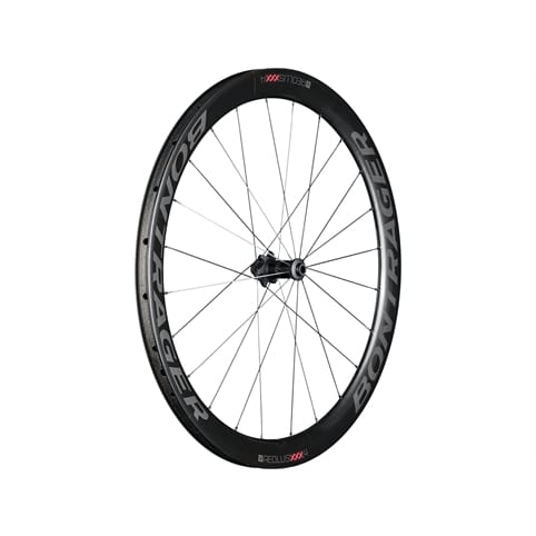 BONTRAGER AEOLUS XXX 4 TLR DISC CLINCHER FRONT ROAD WHEEL *