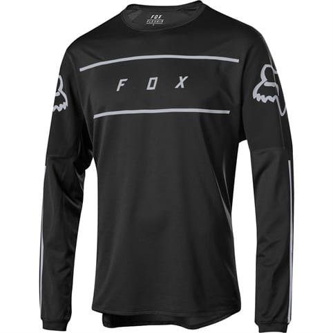 FOX FLEXAIR LONG SLEEVE FINE LINE JERSEY *