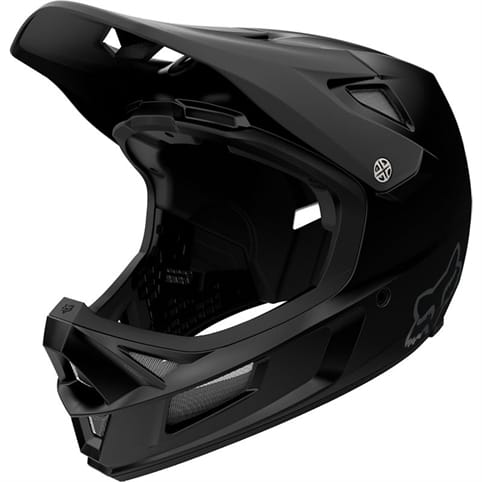 FOX RAMPAGE COMP MATTE BLACK HELMET *