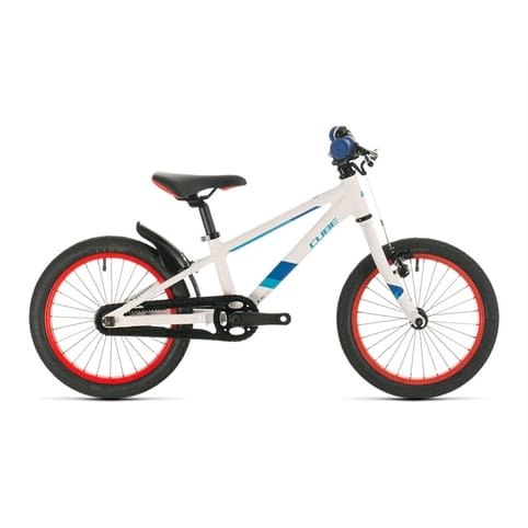CUBE CUBIE 160 WHITE/BLUE KIDS BIKE 2020