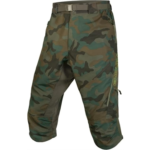 ENDURA HUMMVEE 3/4 CAMOUFLAGE SHORT II WITH LINER *