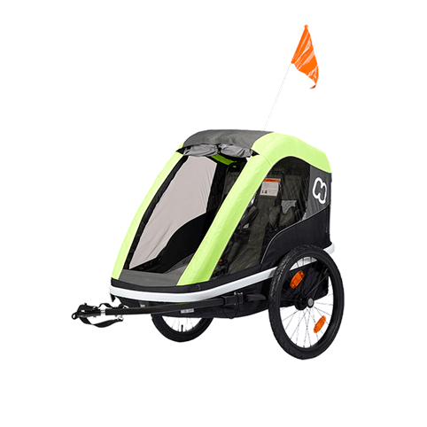 HAMAX AVENIDA TWIN CHILD BIKE TRAILER *